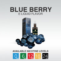 TSUNAMI E-LIQUID BLUEBERRY 0mg