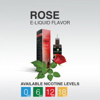 TSUNAMI E-LIQUID ROSE 18mg