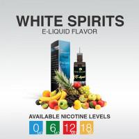 TSUNAMI E-LIQUID WHITE SPIRITS 0mg