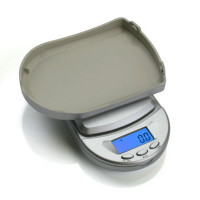 DIGITAL SCALE POCKET BCM-650G SILVER