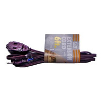 EXTENSION CORD BROWN 6FT