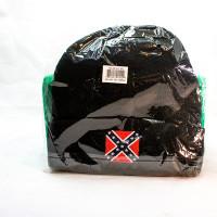 HAT W/ REBEL FLAG PATCH #502