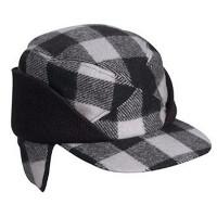 TRAPPER HAT EARFLAP CHECKER #411