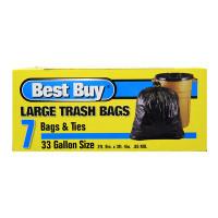 TRASH BAGS - BEST BUY 33 GALLON