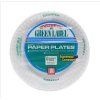 "PAPER PLATES 9"" HCS"