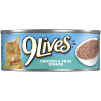 9 LIVES CAN CHICKEN & TUNA
