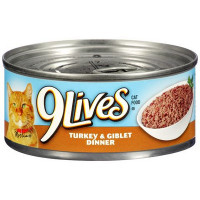 9 LIVES CAN TURKEY & GIBLETS