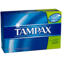 TAMPAX SUPER (GREEN) TAMPONS