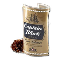 CAPTAIN BLACK POUCH GOLD