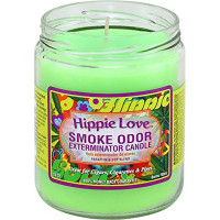 SMOKE ODOR EXTERMINATOR JAR HIPPIE LOVE