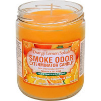 SMOKE ODOR EXTERMINATOR JAR ORANGE LEMON SPLASH