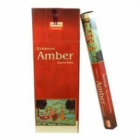 DARSHAN INCENSE AMBER