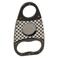 CIGAR CUTTER S.S. CHECKERED