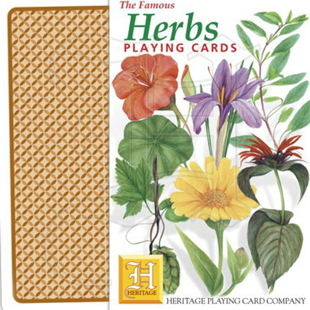 Herb Playing Card Deck
