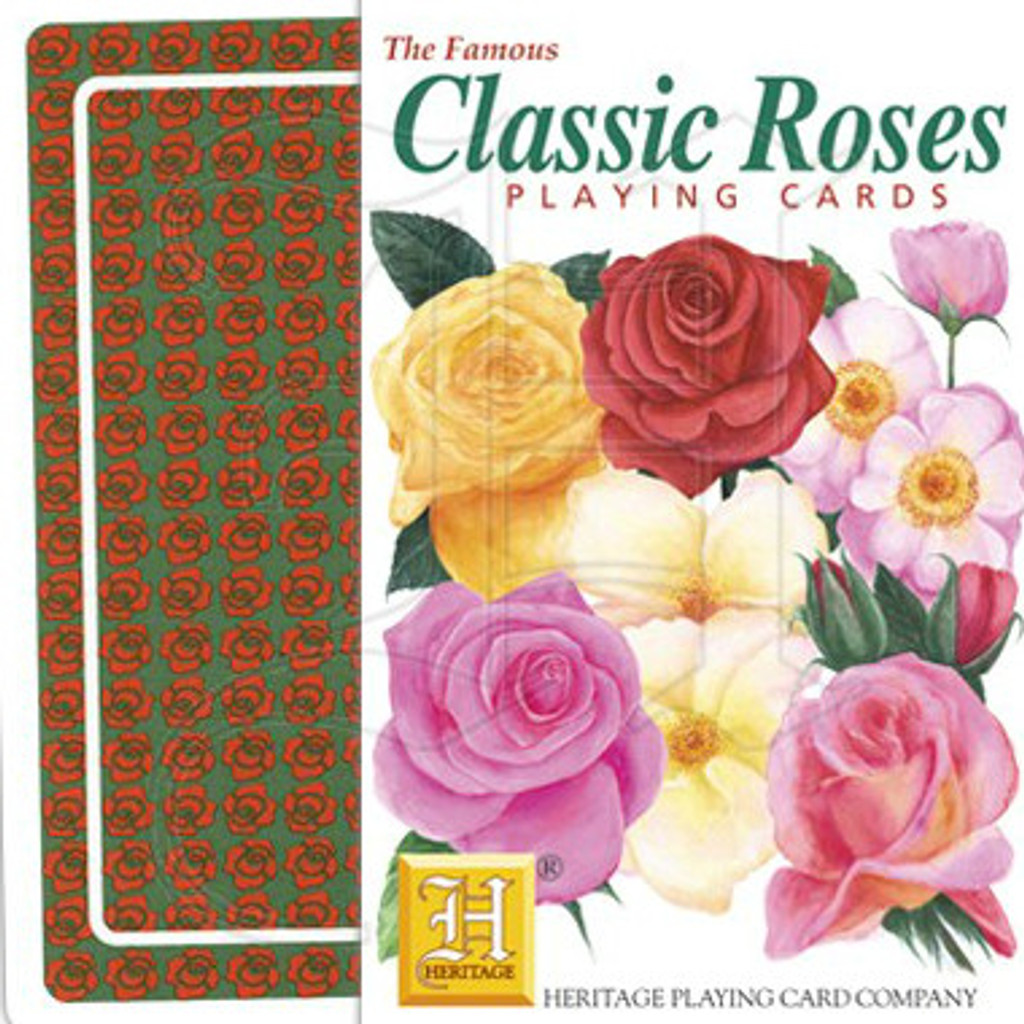 Classic Roses Playing Cards