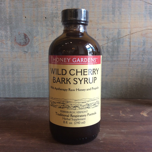 Honey with Wild Cherry Syrup