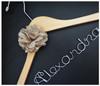 Personalised Adult Hanger with Vintage Flower