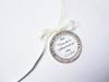 Bouquet Charm (Round w/ rhinestones) - Maddie Design