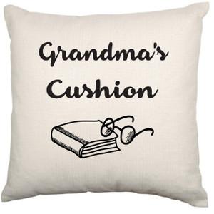 Personalised Cushion Cover (Grandma Grandpa's Cushion)