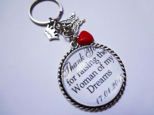 Keyring - Personalised Bridal Party (Mother of the Bride)