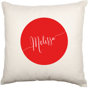 Personalised Cushion Cover (Name Cushion)