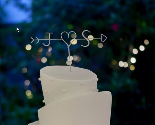 Personalised Cake Topper - Arrow - Bree Design