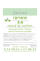 Eniva Renew Lip Nutrition, .15 oz, 2 pack, ingredients, label