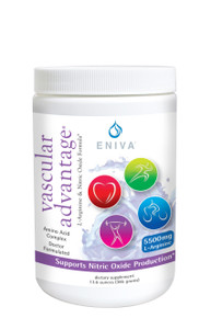 Eniva Vascular Advantage, natural dietary supplement, 13.6 oz, aid health of cardiovascular system, support vascular integrity, antioxidants, promotes nitric oxide production, blood vessel health and integrity, healthy sexual function, energy levels,* high-potency L-Arginine and L-Citrulline, Product ID # 26004