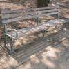 Crotona Park Bench with Armrest