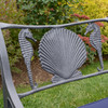 Seahorse and Shell Triple Settee (Outlet)