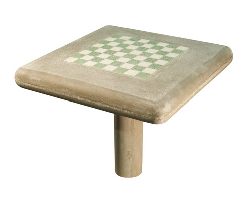 Concrete Chess Table