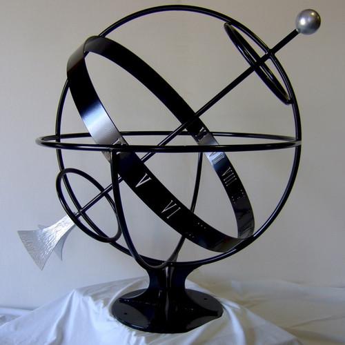Iron Armillary Sundial