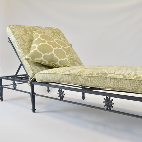 Star Design Chaise Lounge with adjustable back (Outlet)