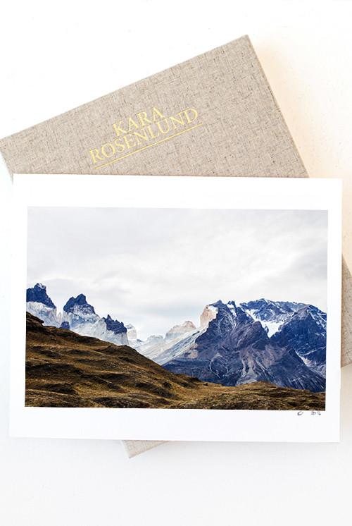 Torres del Paine Photographic Print