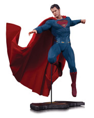 dawn of justice superman statue