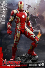 hot toys quarter scale iron man