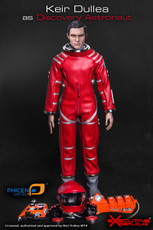 Keir Dullea Red Astronaut 1/6 Scale Figure