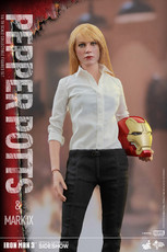 hot toys pepper potts mark ix