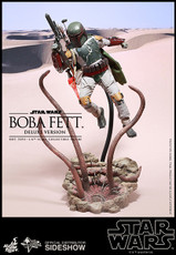 hot toys boba fett deluxe sixth scale figure