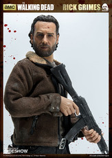 walking dead rick grimes threezero