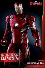 hot toys iron man mark xlvi power pose