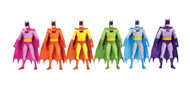 batman rainbow action figure 6 pack