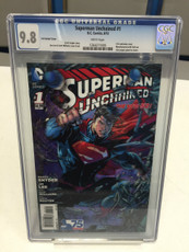 superman unchained retailer variant