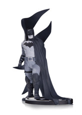 batman black white statue rafael albuquerque