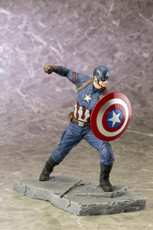 civil war captain america artfx+ statue