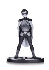 batman black white statue robin frank quitely
