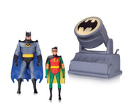 batman animated series batman robin bat signal action figures
