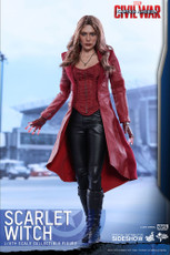 hot toys civil war scarlet witch figure