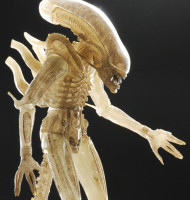 neca alien translucent prototype quarter scale figure