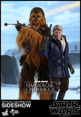 hot toys han solo and chewbacca